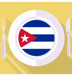 Kitchen of Cuba vector