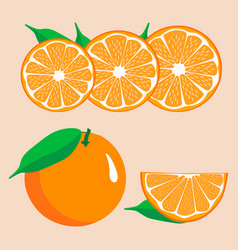 orange vector image