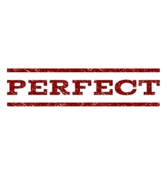 Perfect Watermark Stamp vector