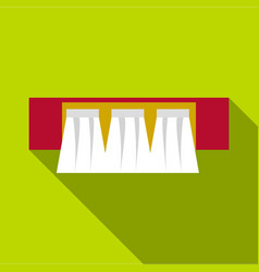 Power station icon flat style vector