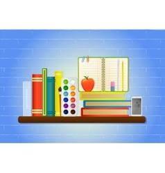 School education items vector
