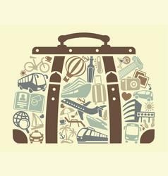 Tourism symbol vector