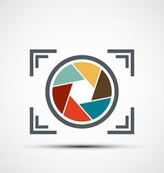 icon camera Stock vector image vector image