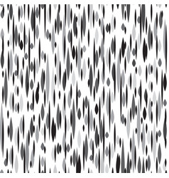 Abstract spot seamless pattern black and white vector
