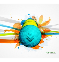artistic collage vector image