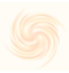 Creamy swirl vector