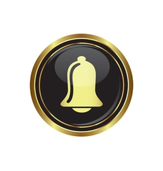 Ringing bell icon vector image
