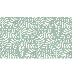 Floral seamless pattern background Ornament with vector image vector image