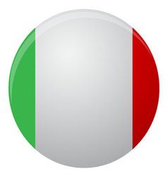 Italy flag icon flat vector image