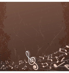Grunge Musical Background Backdrop Image vector image vector image