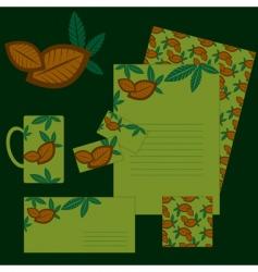 corporate coffee vector image