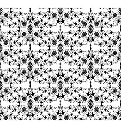 Seamless ornamental background vector image vector image