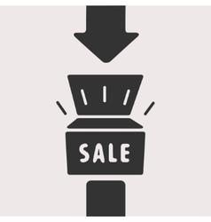 Symbol of Sale vector image vector image