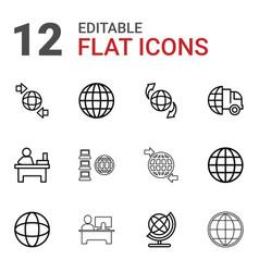 12 around icons vector