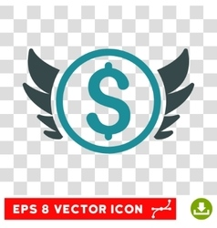 Angel Investment Icon vector