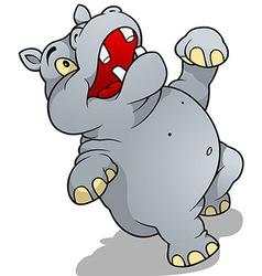 Dancing Hippo vector