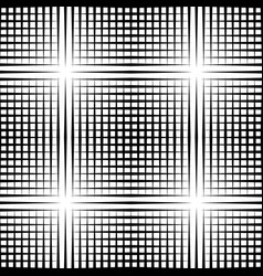 grid mesh pattern with irregular lines vector image