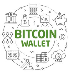 lines crypto currency vector image