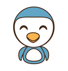 Penguin baby animal funny image vector