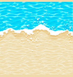Seamless simple pattern sea wave on the vector