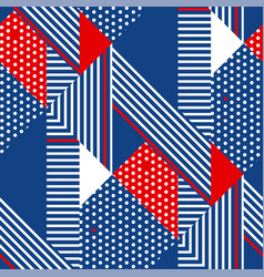 Stripes modern geometric seamless pattern vector