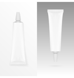 Tube Of Cream Or Gel Grayscale White Clean vector image
