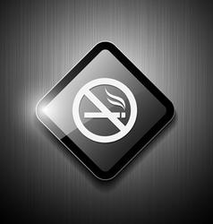 No smoking sign modern design vector