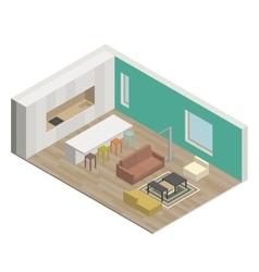 Living room vector