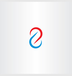 number 2 two icon symbol design vector image vector image