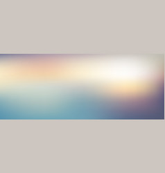 Abstract blurred gradient twilight background vector