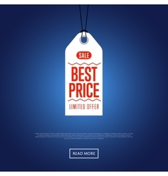 Best price discount sale sticker vector