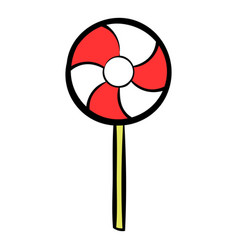 Candy icon cartoon vector