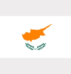 Cypriot flag vector image