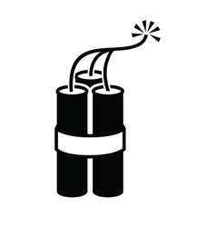 Dynamite icon vector