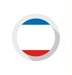 Flag of crimea vector