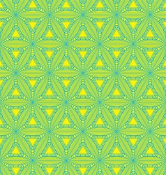 Geometric triangle pattern vector