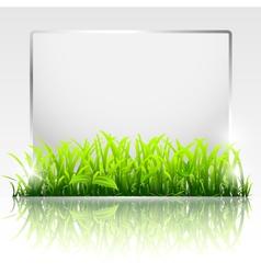 natural frame vector image