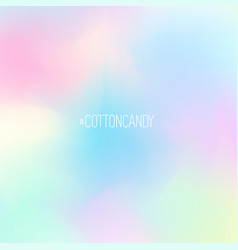 nice pastel cotton candy background gradient in vector image