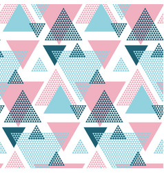 Pink and blue elegant creative repeatable motif vector