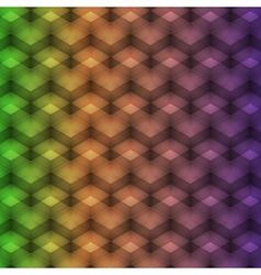 Rainbow geometric pattern vector