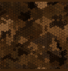 texture military camouflage seamless pattern vector image