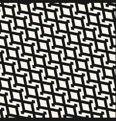 zigzag seamless diagonal mesh lattice pattern vector image