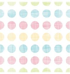 Abstract textile polka dots stripes seamless vector image vector image