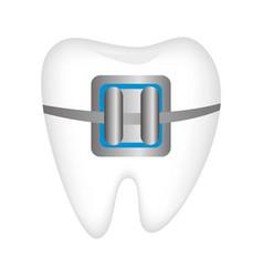 dental healthcare treatment icon vector image