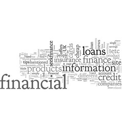 Cheap loans these can now be easily obtained vector