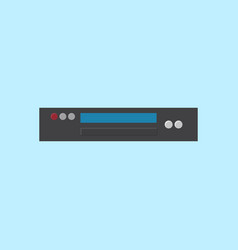 dvd player icon set of great flat icons use for vector image