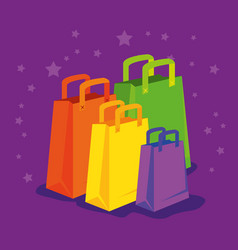 market sale bags to special primotion vector image