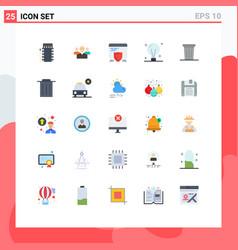 Pack 25 creative flat colors concept web vector