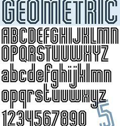 Poster black and white geometric binary stylish vector