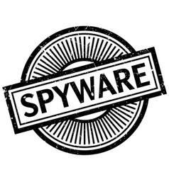 Spyware rubber stamp vector